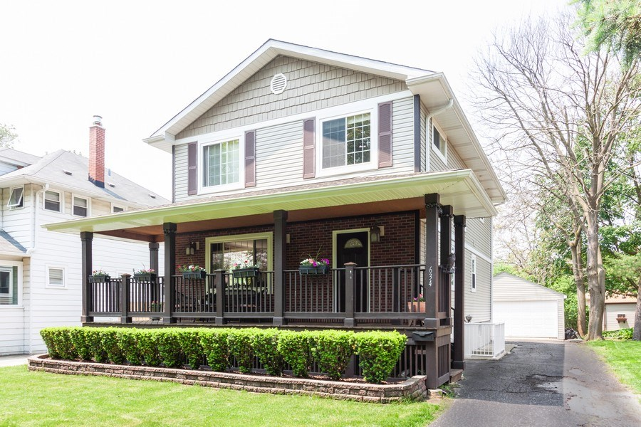 Real Estate Photography - 634 S. Princeton Avenue, Villa Park, IL, 60181 - Front View