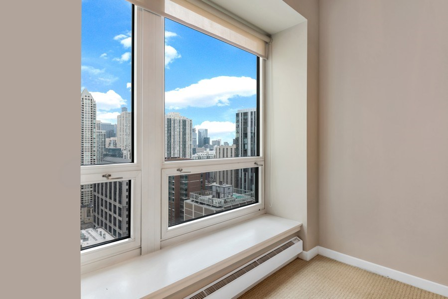 Real Estate Photography - 57 E Delaware Pl, Unit 2901, Chicago, IL, 60611 - View