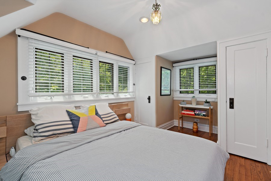 Real Estate Photography - 1277 Forest Ave, Highland Park, IL, 60035 - Master Bedroom