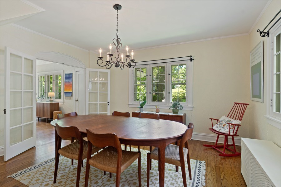 Real Estate Photography - 1277 Forest Ave, Highland Park, IL, 60035 - Dining Room