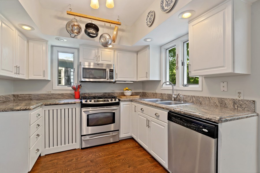 Real Estate Photography - 1277 Forest Ave, Highland Park, IL, 60035 - Kitchen
