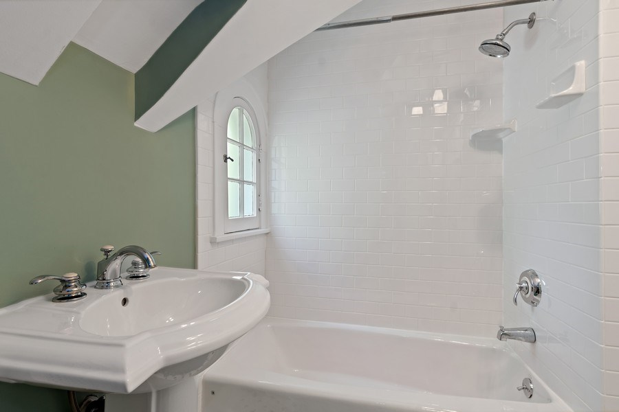 Real Estate Photography - 1277 Forest Ave, Highland Park, IL, 60035 - Bathroom
