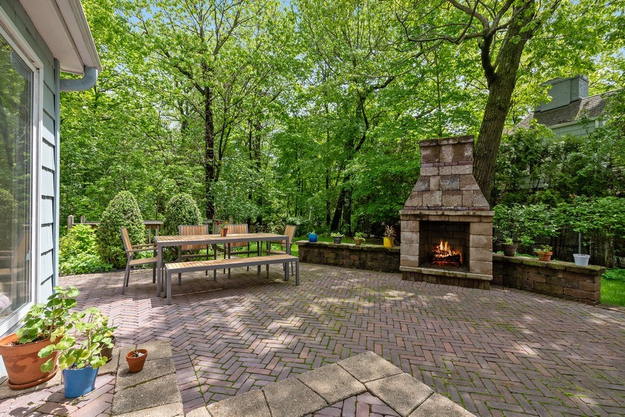Real Estate Photography - 1277 Forest Ave, Highland Park, IL, 60035 - Patio