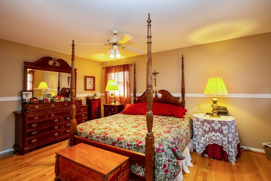 Real Estate Photography - 557 Dulles Road, Des Plaines, IL, 60016 - Master Bedroom