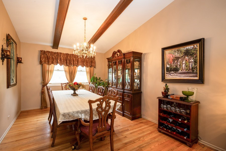 Real Estate Photography - 557 Dulles Road, Des Plaines, IL, 60016 - Dining Room