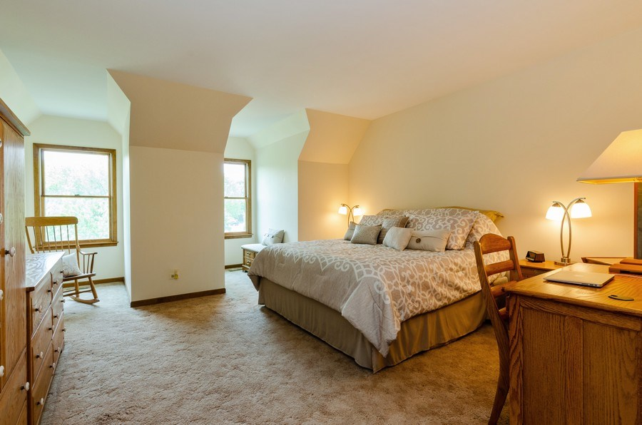 Real Estate Photography - 1410 Spring Hill Drive, Algonquin, IL, 60102 - Master Bedroom