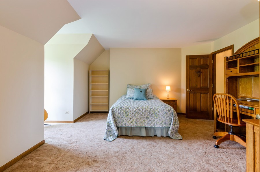 Real Estate Photography - 1410 Spring Hill Drive, Algonquin, IL, 60102 - 3rd Bedroom