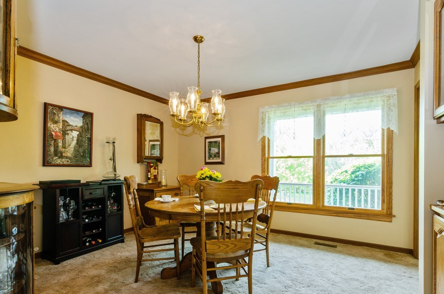Real Estate Photography - 1410 Spring Hill Drive, Algonquin, IL, 60102 - Dining Room