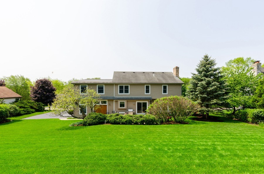 Real Estate Photography - 1410 Spring Hill Drive, Algonquin, IL, 60102 - Rear View