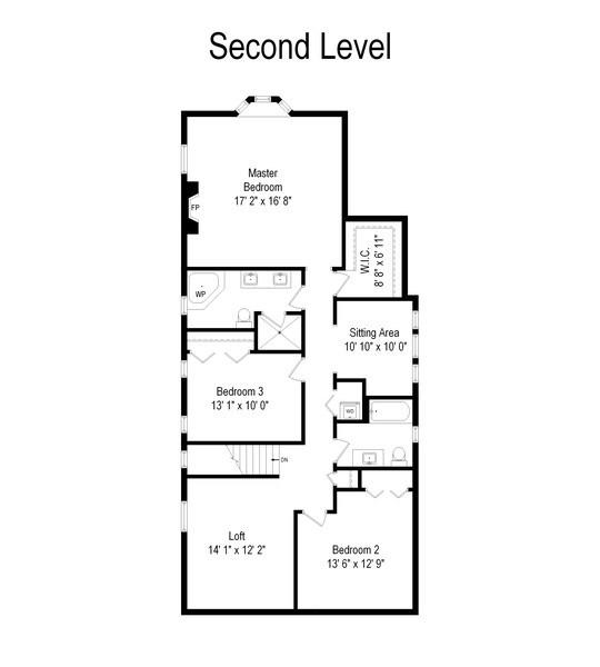 Real Estate Photography - 821 S. Prospect Avenue, Park Ridge, IL, 60068 - Floor Plan
