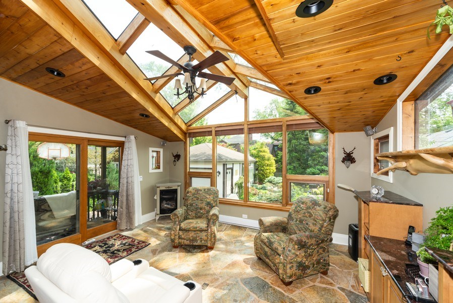 Real Estate Photography - 821 S. Prospect Avenue, Park Ridge, IL, 60068 - Sunroom