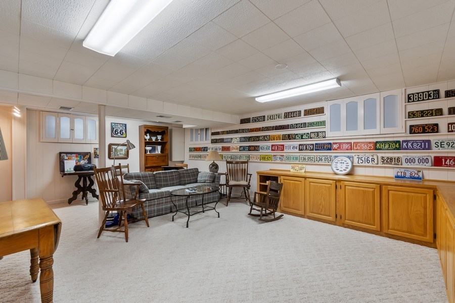 Real Estate Photography - 305 E. 12th Avenue, Naperville, IL, 60563 - Plenty of rec room space + storage in the bsmt
