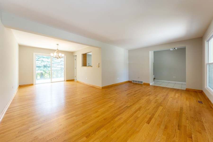 Real Estate Photography - 3018 N. Stratford Road, Arlington Heights, IL, 60004 - Living Room / Dining Room