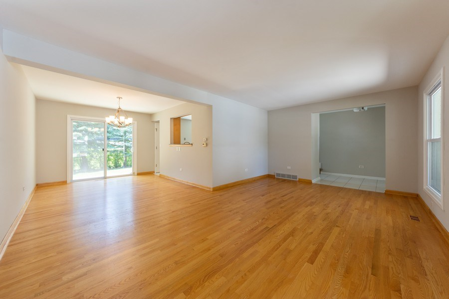 Real Estate Photography - 3018 N. Stratford Road, Arlington Heights, IL, 60004 - Living Room/Dining Room