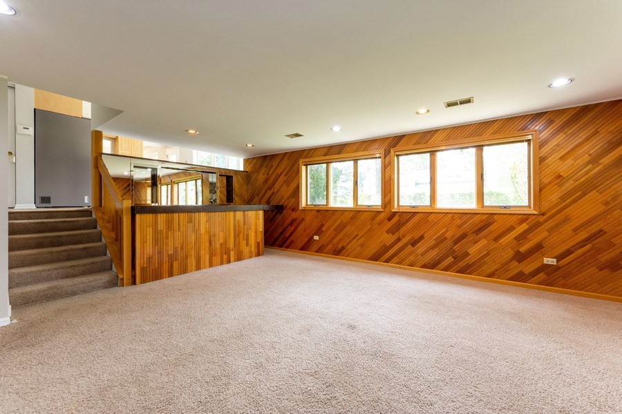 Real Estate Photography - 3018 N. Stratford Road, Arlington Heights, IL, 60004 - Family Room / Kitchen