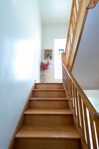Real Estate Photography - 5908 Butterfield Rd, Berkeley, IL, 60163 - Staircase