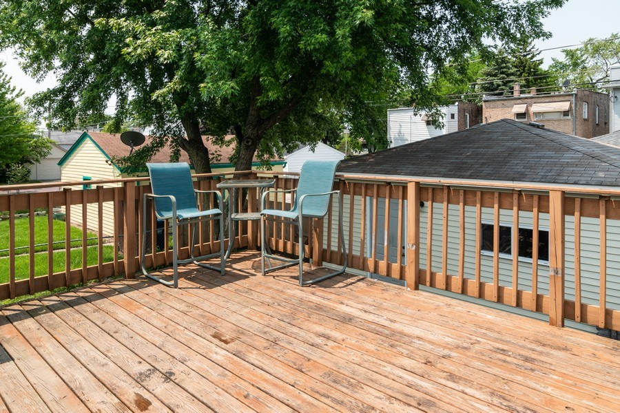 Real Estate Photography - 1041 Ferdinand Ave, Forest Park, IL, 60130 - Deck