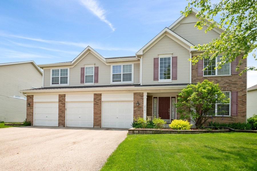 Real Estate Photography - 215 Primrose Lane, Bartlett, IL, 60103 - Front View