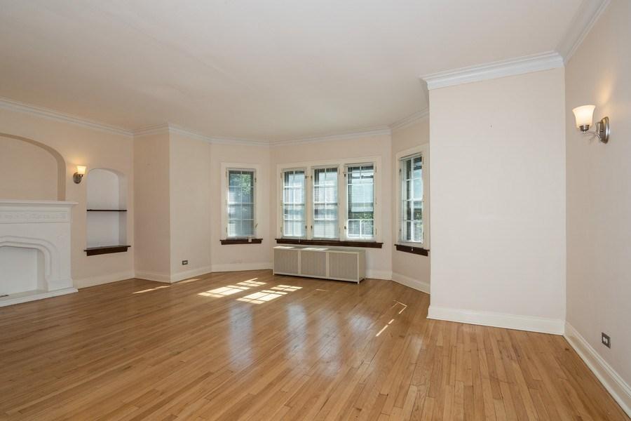Real Estate Photography - 504 S. Austin Boulevard, Unit 2, Oak Park, IL, 60304 - Living Room