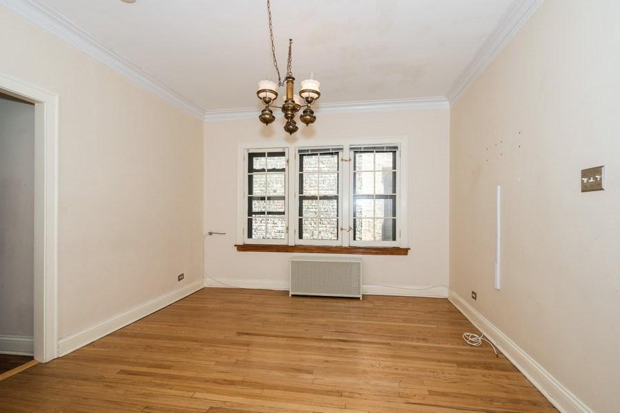 Real Estate Photography - 504 S. Austin Boulevard, Unit 2, Oak Park, IL, 60304 - Dining Room
