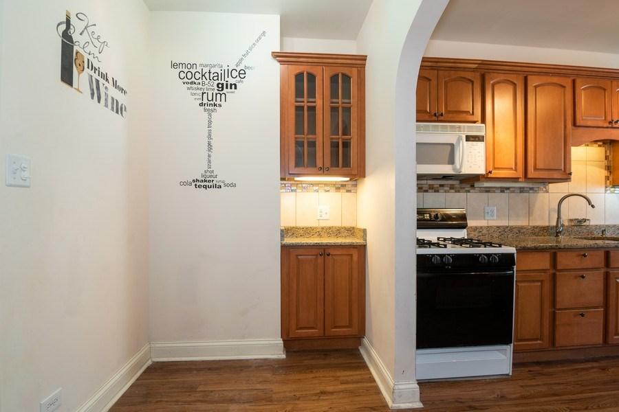 Real Estate Photography - 504 S. Austin Boulevard, Unit 2, Oak Park, IL, 60304 - Dining Area