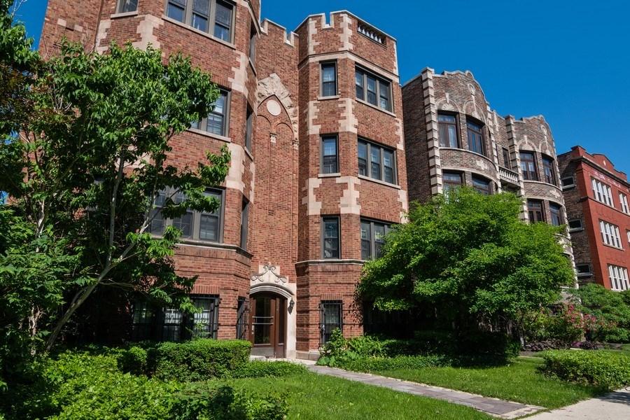 Real Estate Photography - 504 S. Austin Boulevard, Unit 2, Oak Park, IL, 60304 - Front View