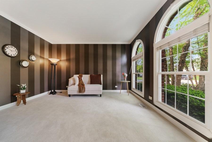 Real Estate Photography - 12758 Barrow Lane, Plainfield, IL, 60585 - Living Room