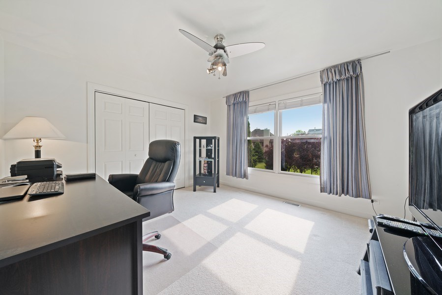 Real Estate Photography - 12758 Barrow Lane, Plainfield, IL, 60585 - 2nd Bedroom