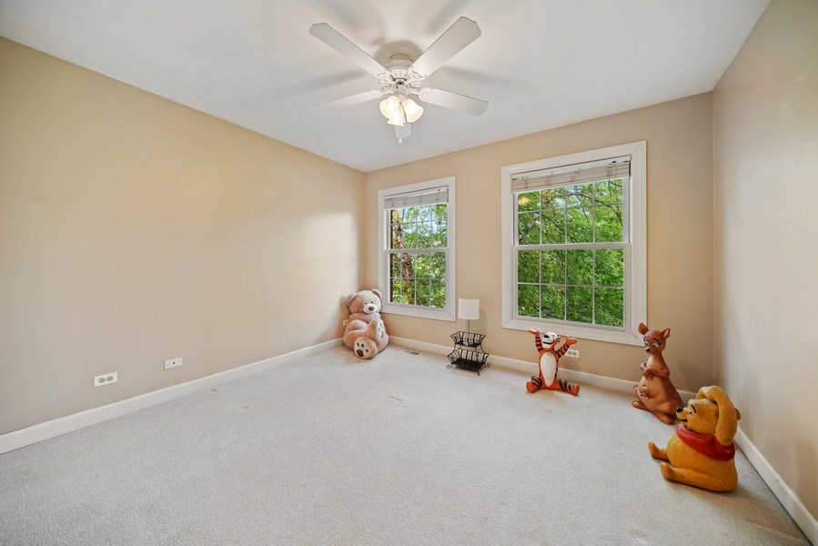 Real Estate Photography - 12758 Barrow Lane, Plainfield, IL, 60585 - 3rd Bedroom