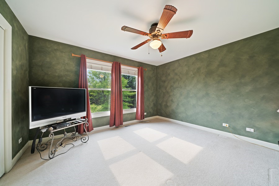 Real Estate Photography - 12758 Barrow Lane, Plainfield, IL, 60585 - 4th Bedroom