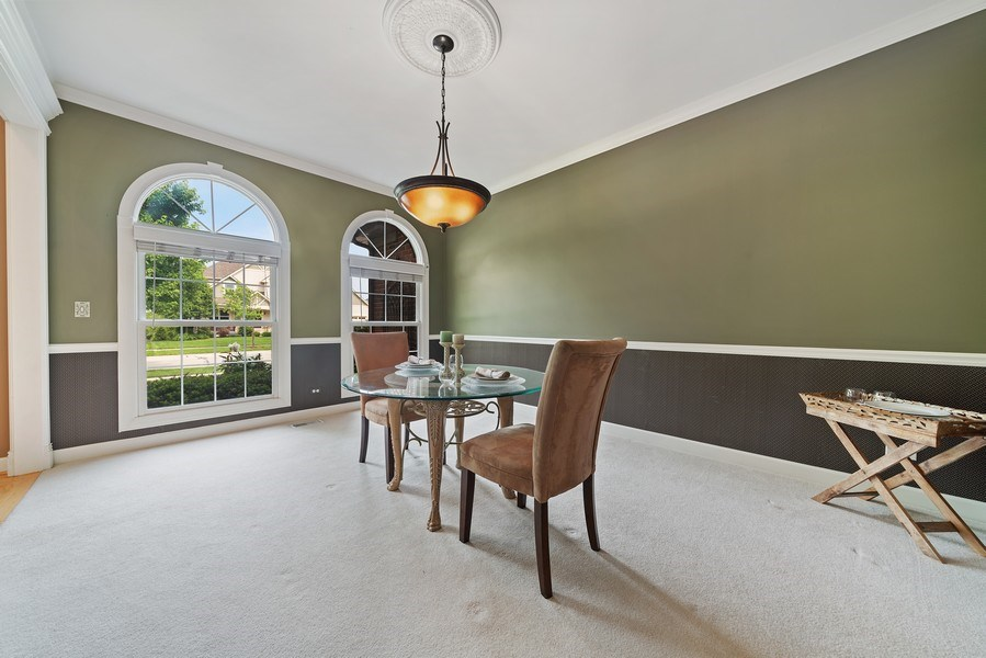 Real Estate Photography - 12758 Barrow Lane, Plainfield, IL, 60585 - Dining Room