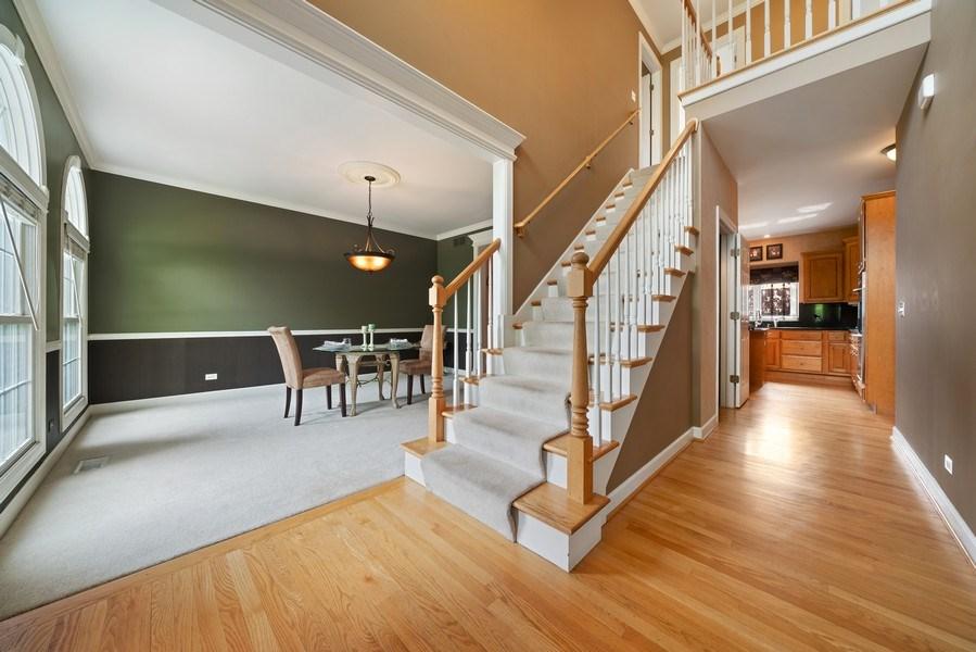 Real Estate Photography - 12758 Barrow Lane, Plainfield, IL, 60585 - Foyer