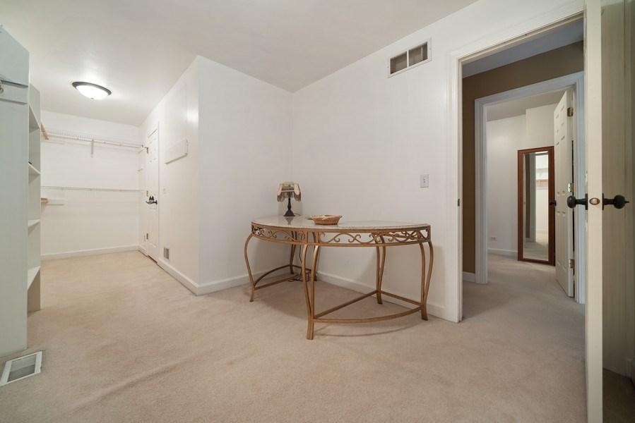 Real Estate Photography - 12758 Barrow Lane, Plainfield, IL, 60585 - Master Bedroom Closet