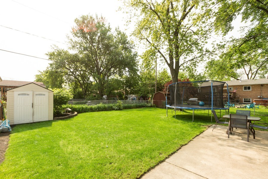 Real Estate Photography - 12157 S. Lawndale Avenue, Alsip, IL, 60803 - Back Yard