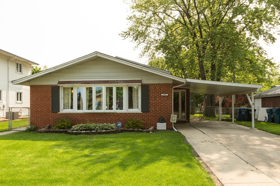 Real Estate Photography - 12157 S. Lawndale Avenue, Alsip, IL, 60803 - Front View