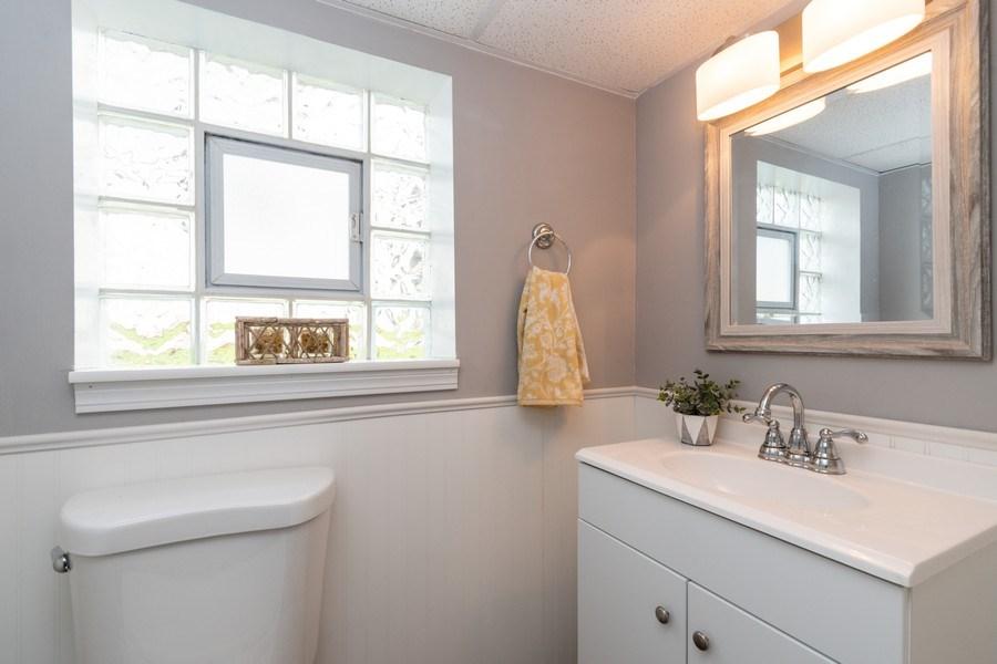 Real Estate Photography - 12157 S. Lawndale Avenue, Alsip, IL, 60803 - Half Bath