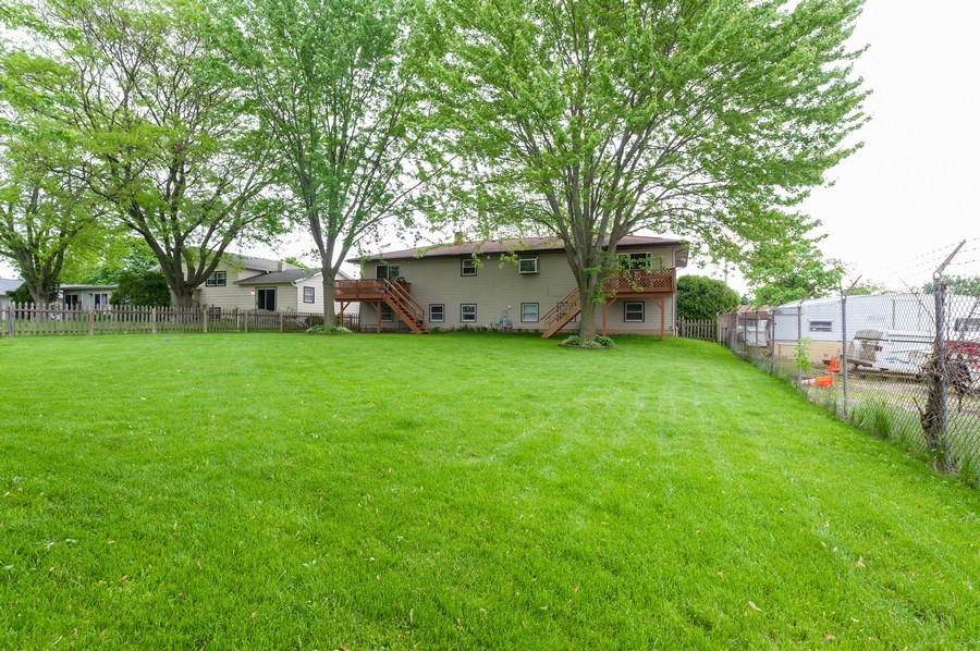 Real Estate Photography - 668 Anita Ave, Antioch, IL, 60002 - Exterior Rear