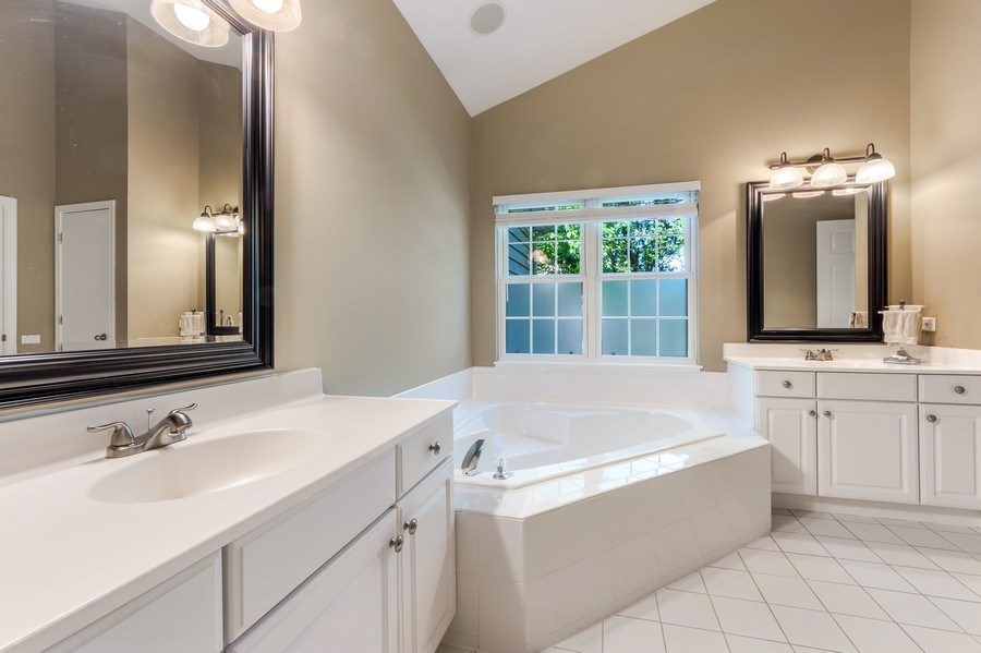 Real Estate Photography - 404 Kerry Court, Prospect Heights, IL, 60070 - Master Bathroom
