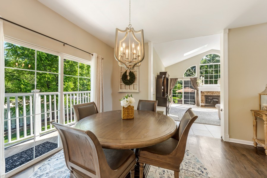 Real Estate Photography - 404 Kerry Court, Prospect Heights, IL, 60070 - Breakfast Area