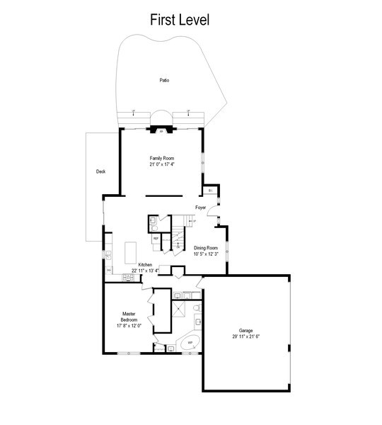 Real Estate Photography - 404 Kerry Court, Prospect Heights, IL, 60070 - Floor Plan