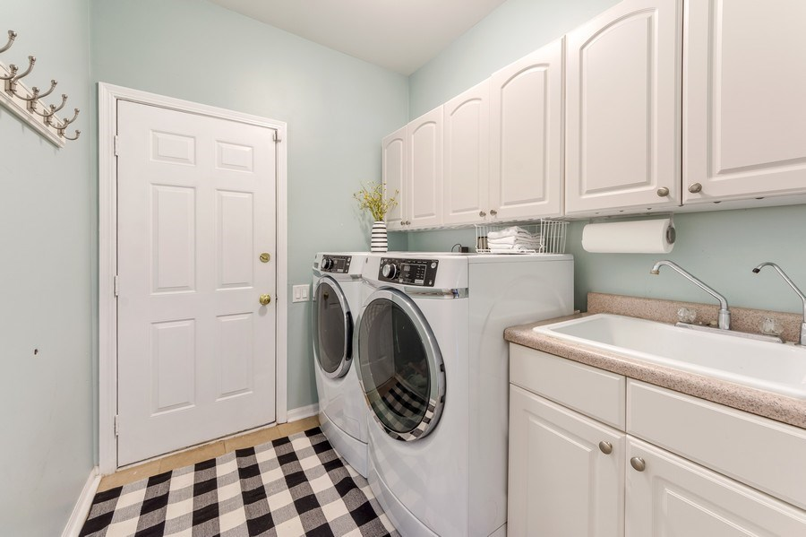 Real Estate Photography - 404 Kerry Court, Prospect Heights, IL, 60070 - Laundry Room