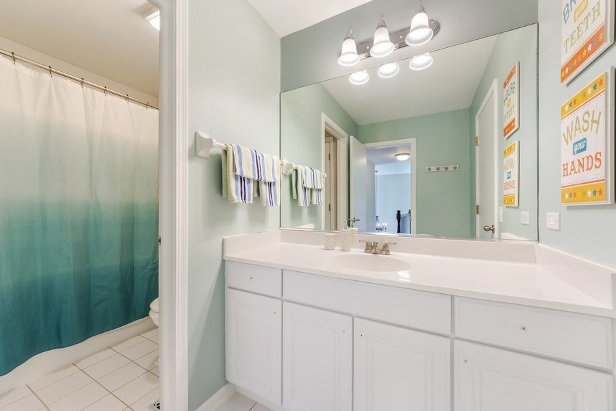 Real Estate Photography - 404 Kerry Court, Prospect Heights, IL, 60070 - 2nd Bathroom