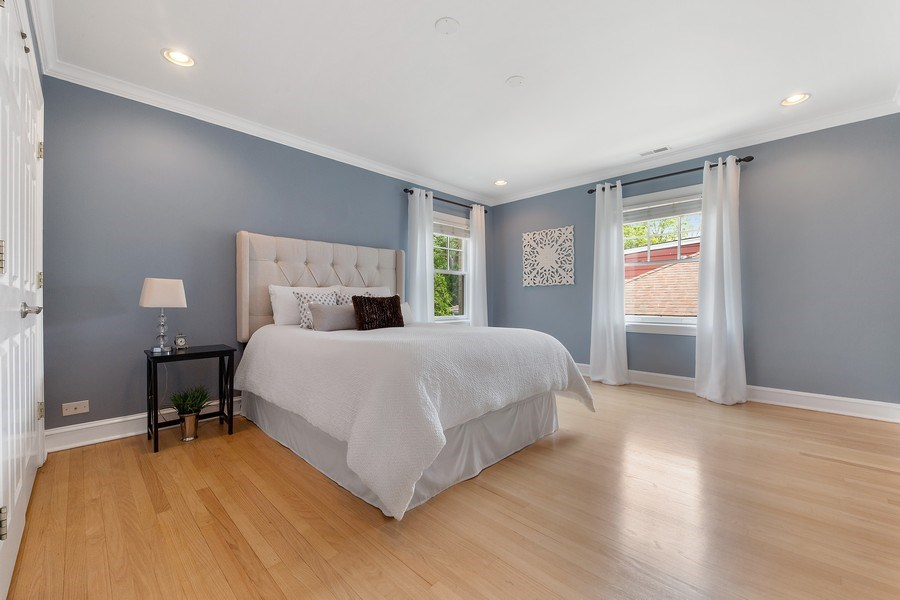 Real Estate Photography - 506 Uvedale Road, Riverside, IL, 60546 - 3rd Bedroom