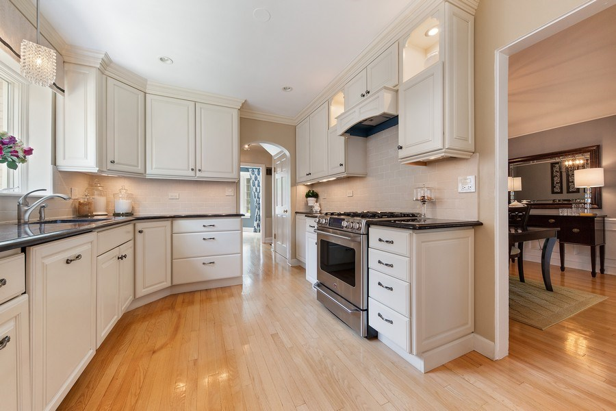 Real Estate Photography - 506 Uvedale Road, Riverside, IL, 60546 - Kitchen