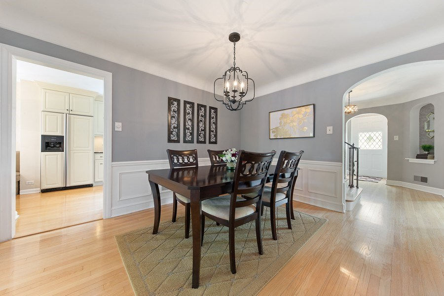 Real Estate Photography - 506 Uvedale Road, Riverside, IL, 60546 - Dining Room