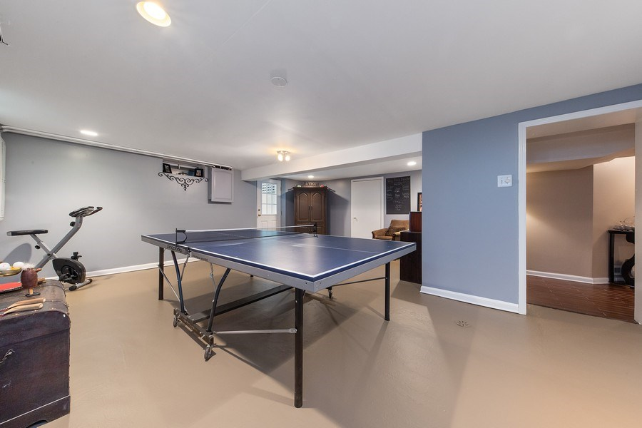 Real Estate Photography - 506 Uvedale Road, Riverside, IL, 60546 - Lower Level Play Room