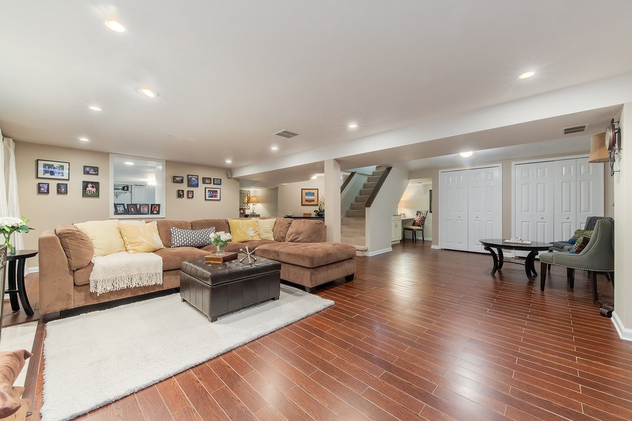 Real Estate Photography - 506 Uvedale Road, Riverside, IL, 60546 - Lower Level Rec Room