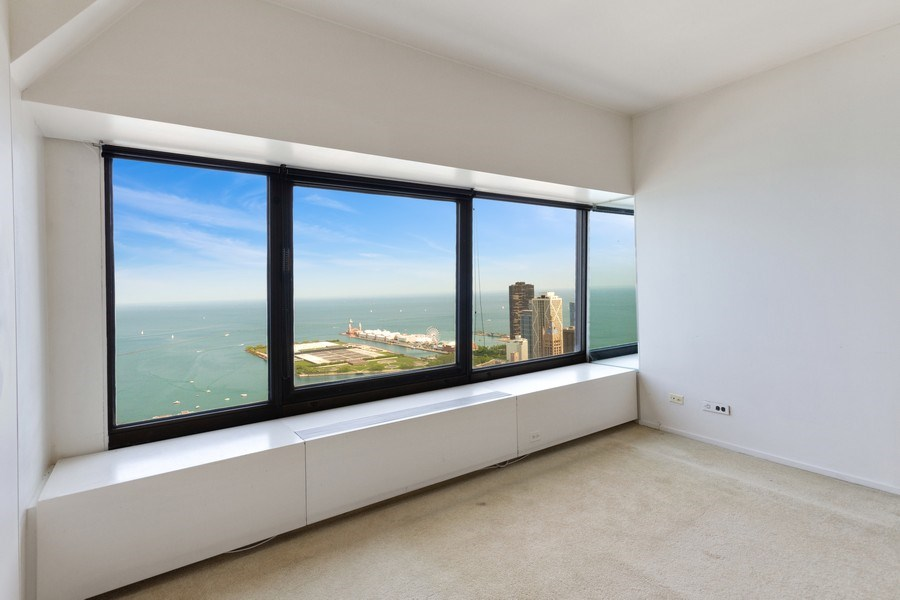 Real Estate Photography - 175 E. DELAWARE Place, Unit 4915, Chicago, IL, 60611 - Living Room