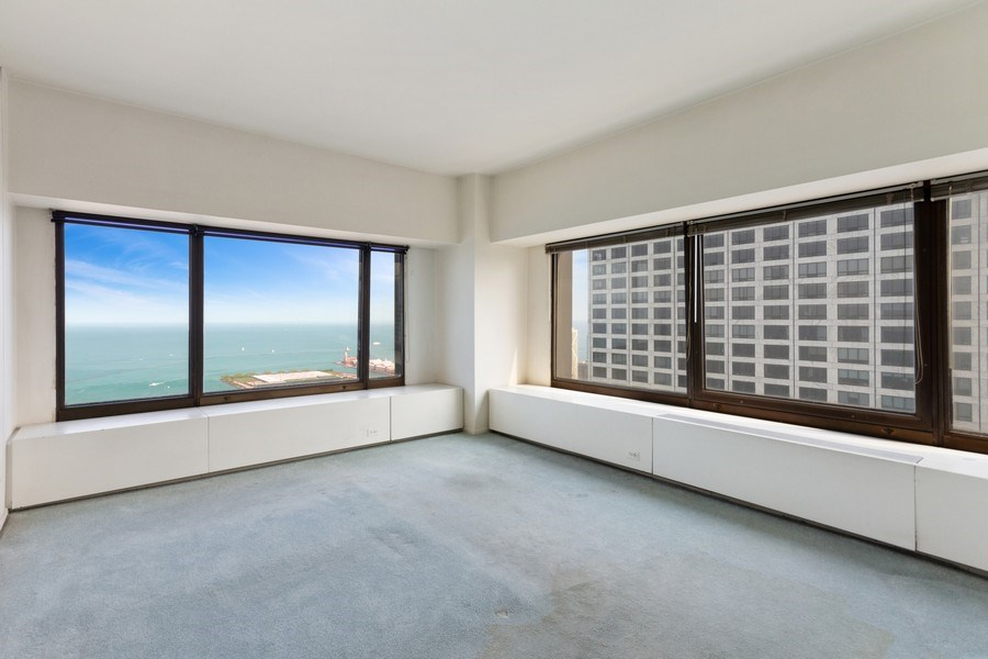 Real Estate Photography - 175 E. DELAWARE Place, Unit 4915, Chicago, IL, 60611 - Master Bedroom