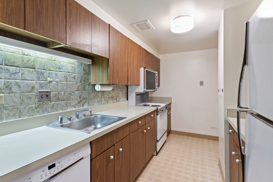 Real Estate Photography - 175 E. DELAWARE Place, Unit 4915, Chicago, IL, 60611 - Kitchen